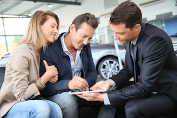 buying a car from a dealer
