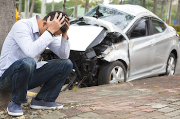 risky teen driver in accident