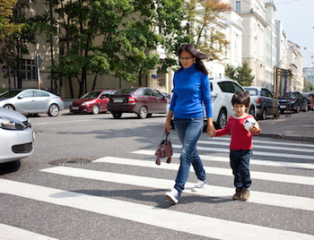 Pedestrians  >> Sharing The Road With Pedestrians